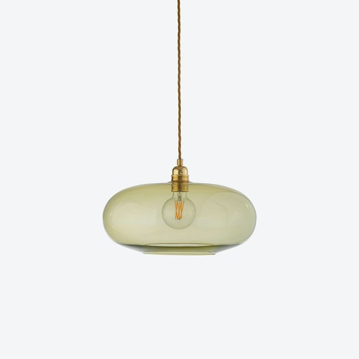 Horizon Pendant Light in Olive