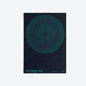 Sixdegrees Hand Screen Print