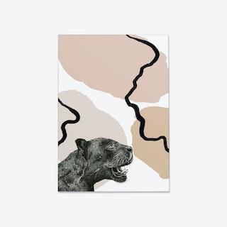 Pastel Panther Fine Art Print