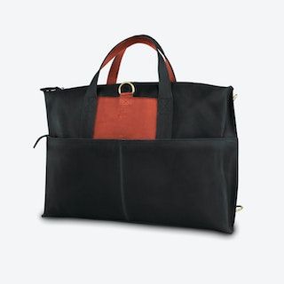 Okrokana Laptop Bag in Black and Copper