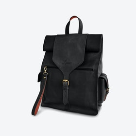 Fabrika Backpack in Black and Copper