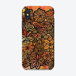 Wildfire Flowers Phone Case