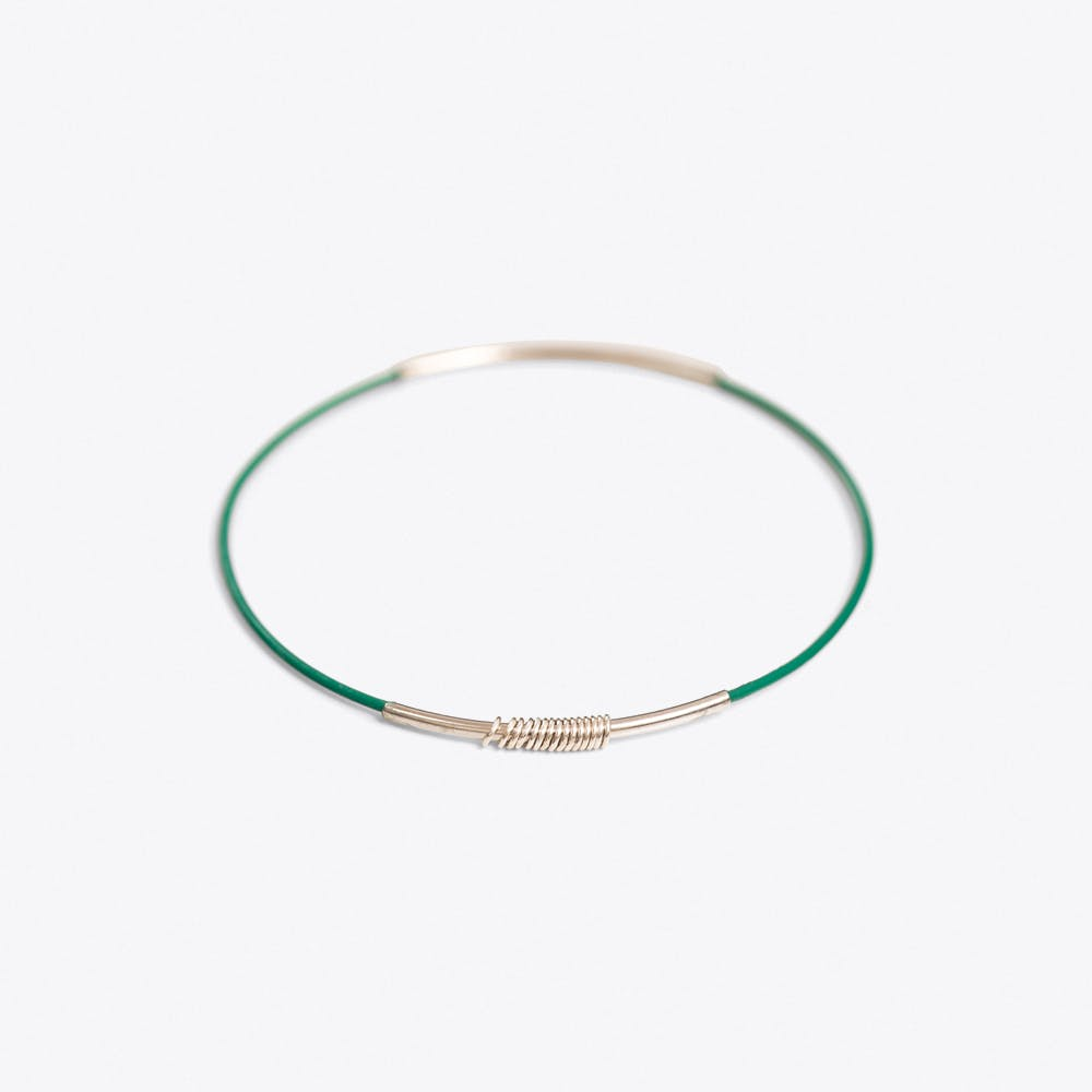 Simple Bangle in Green