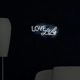 Love Life Neon Sign