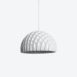 Arc Pendant Light in White