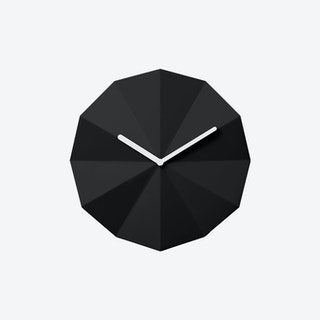 Delta Clock in Black