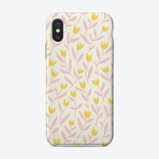 Dancing Tulips Day Phone Case