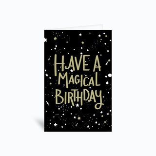 Have A Magical Birthday Greetings Card