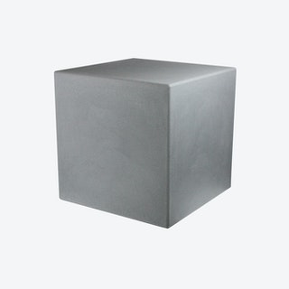 Shining Cube Floor Light in Grey