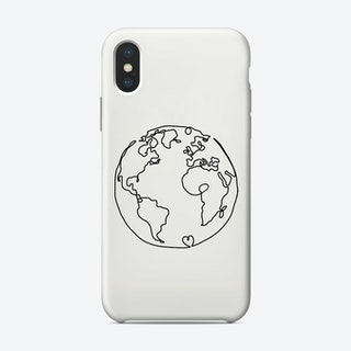 The World In Love Phone Case