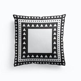 White S Cushion