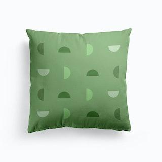 Green Phases Cushion