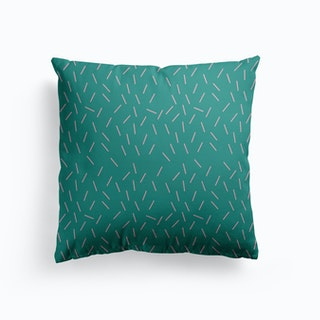 Small Pink Lines Cushion