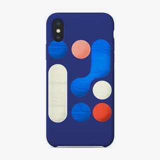 Shapes  Modern Geometry No1 Phone Case
