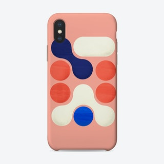 Shapes  Modern Geometry No2 Phone Case