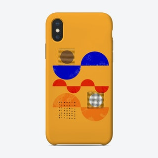 Playful Mood Abstract No2 Phone Case