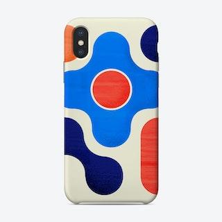 Shapes  Modern Geometry No3jpg Phone Case