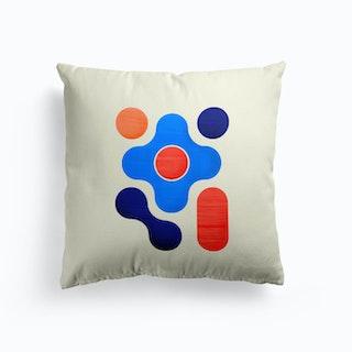 Shapes  Modern Geometry No3 Cushion