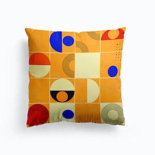 Playful Mood Abstract No1 Cushion