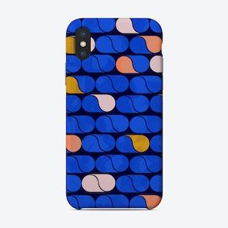 Blue Modern Pattern Phone Case