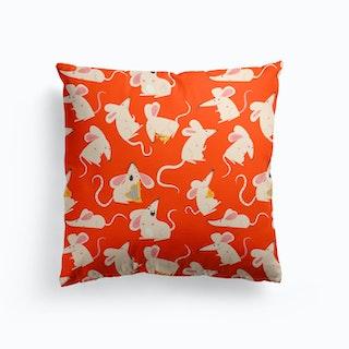 Rats Pattern Cushion