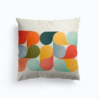 Bright Shapes Cushion