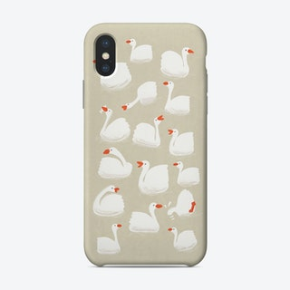 Flock Of Geese Phone Case