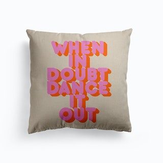 Dance It Out Canvas Cushion