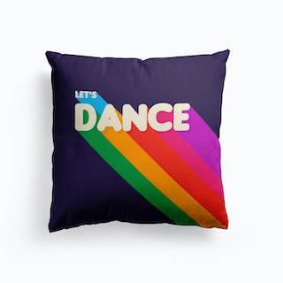Let S Dance Cushion