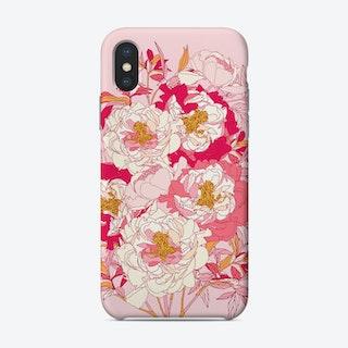 Pink Peonies Phone Case