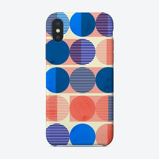Circles Abstract 2 Phone Case