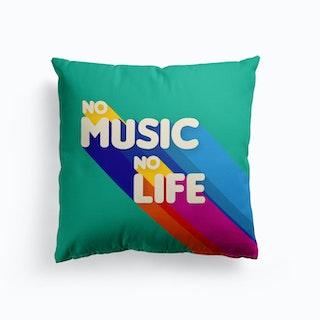 No Music No Life Cushion