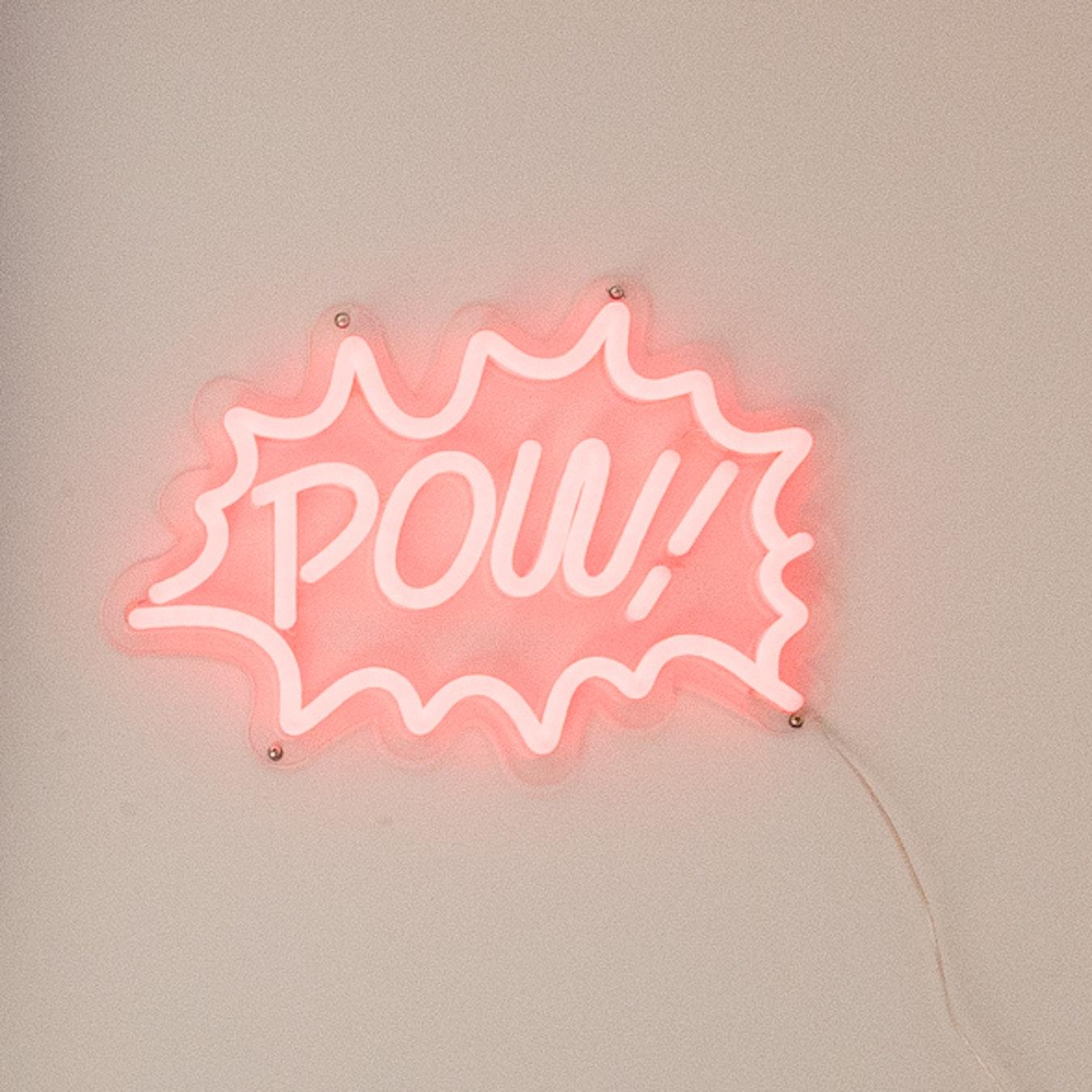 POW LED Neon Light