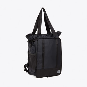 Packaway Ripstop Tote Bag in Black
