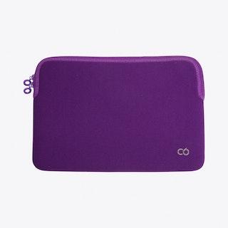 Zip Sleeve for Macbook in Blueberry