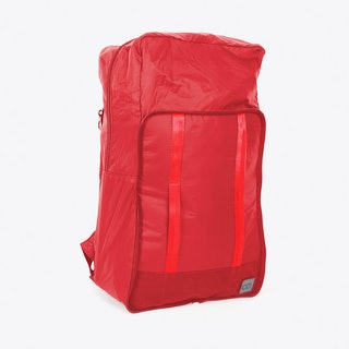 Packaway Ripstop Backpack in Red