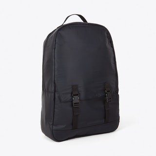 Simple Pocket Backpack in Black