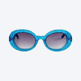 SELENA in Turquoise Glitter