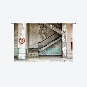 Concrete Stairs Tapestry