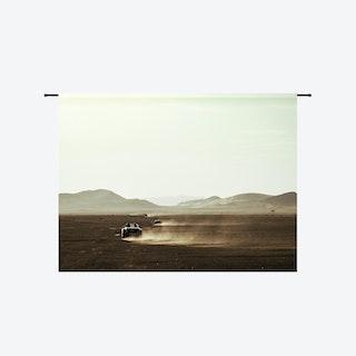 Desert Drive Tapestry