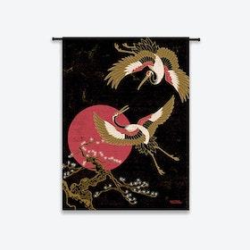Japanese Beauty Tapestry