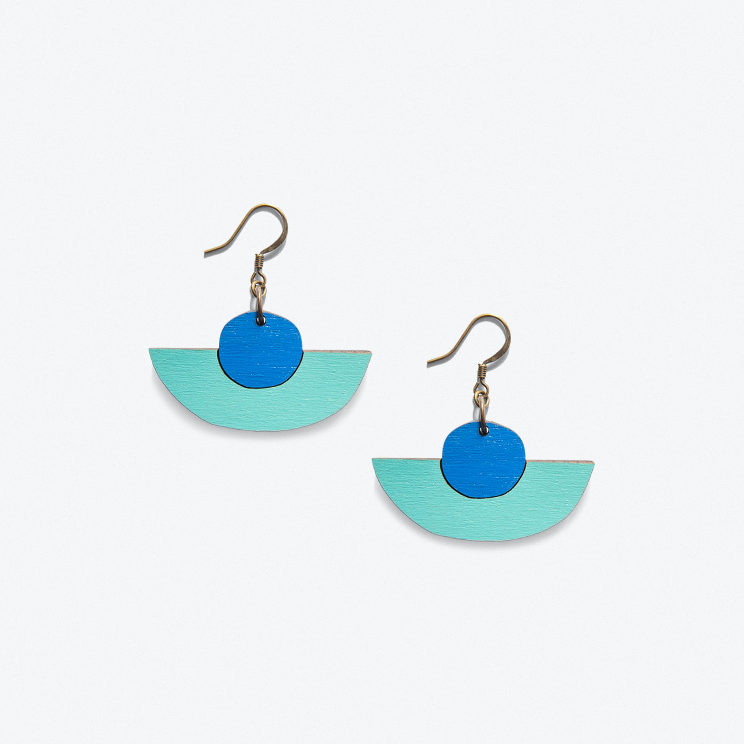 Uhde Earrings In Blue