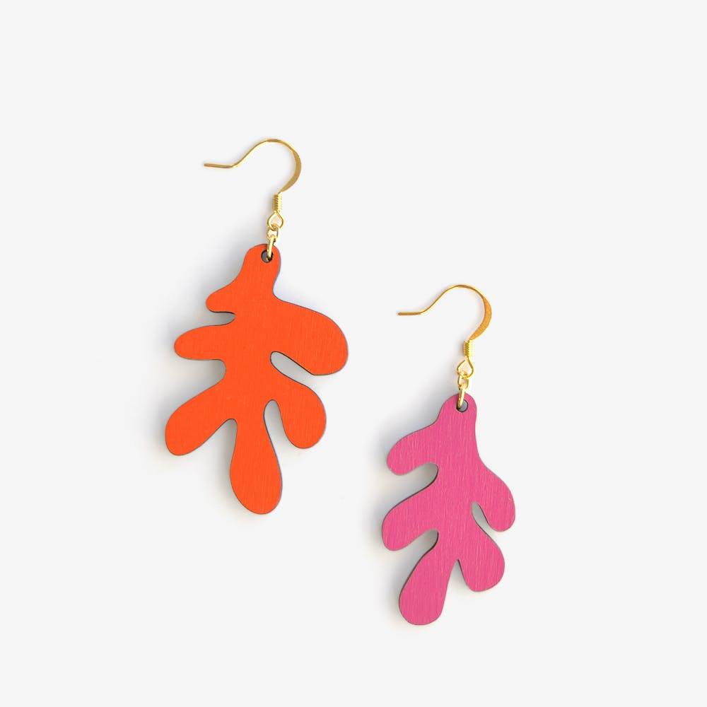 Ata / To Laugh Earrings