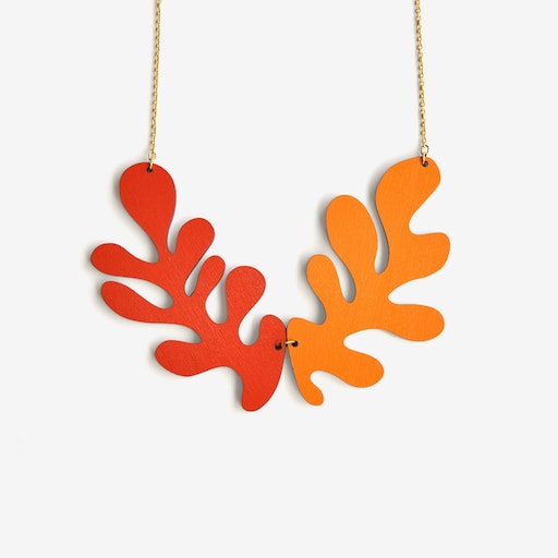Manuia! / Cheers! Necklace Reversible
