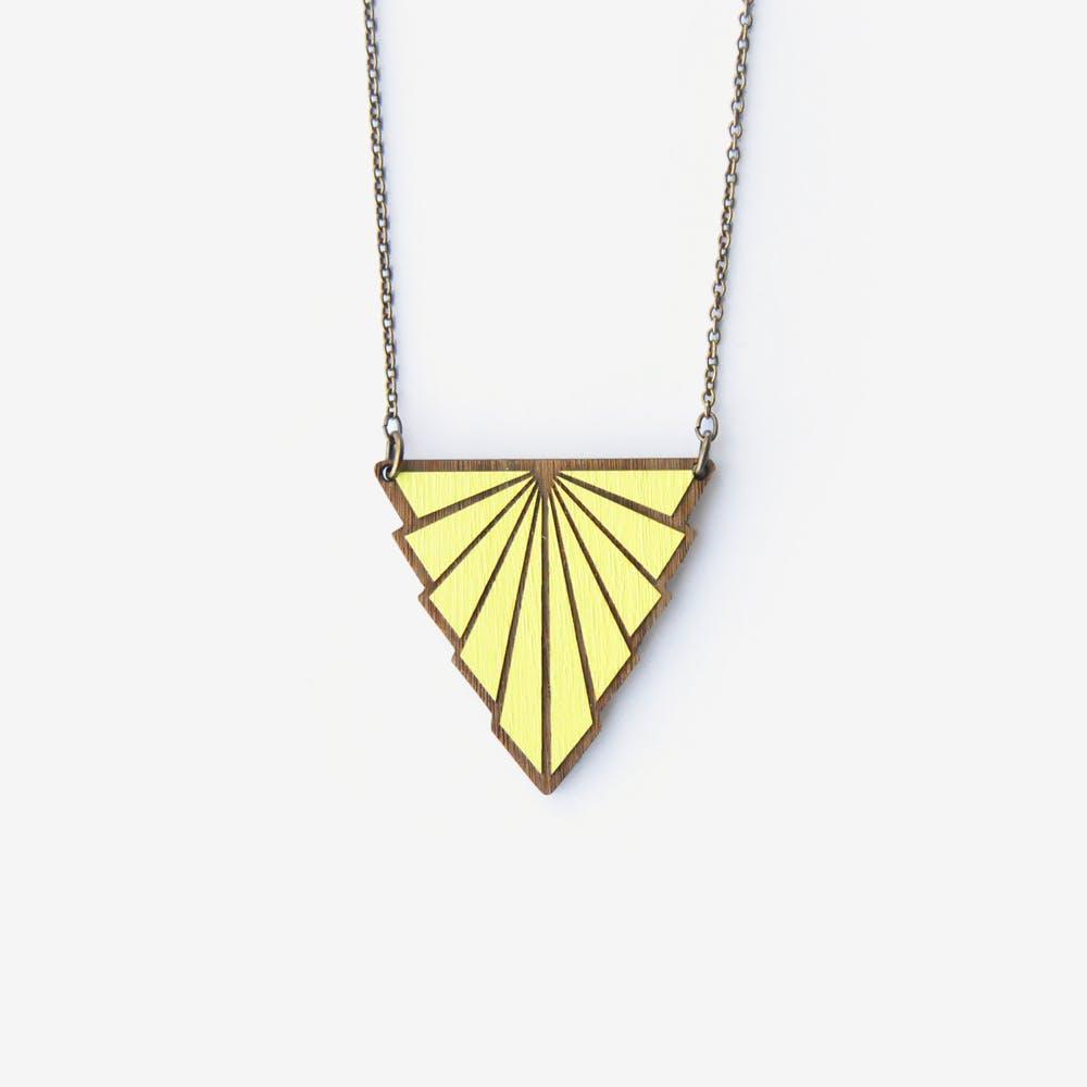 Minou Necklace in Lemon