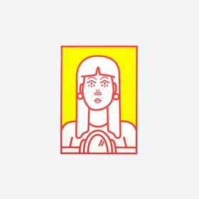 Female Strength (Limited Edition Risograph Print)