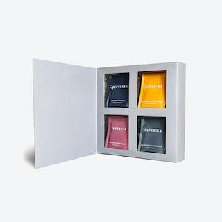 Supertea Variety Organic Tea Gift Set - 32 Sachets