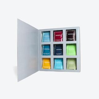 Supertea Variety Organic Tea Gift Set - 72 Sachets