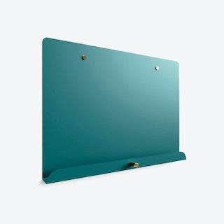 Myosotis notice board in Water Blue