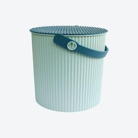 Omnioutil Storage Bucket & Lid in Sky Blue
